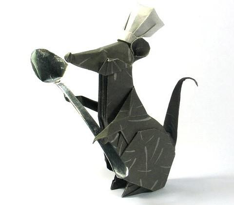 Рататуй оригами