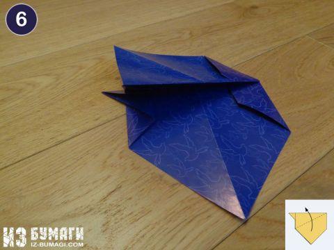 Собака своими руками - схема сборки оригами по шагам