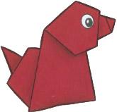 origami-sobachka