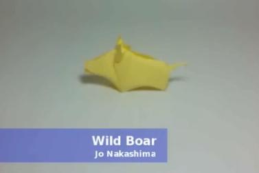 Боров оригами. Видео схема.  Из Бумаги - Mozilla Firefox