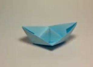 Бумажный кораблик. Видео схема.  Из Бумаги - Mozilla Firefox