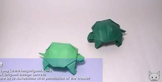 Черепаха оригами. Видео схема.  Из Бумаги - Mozilla Firefox