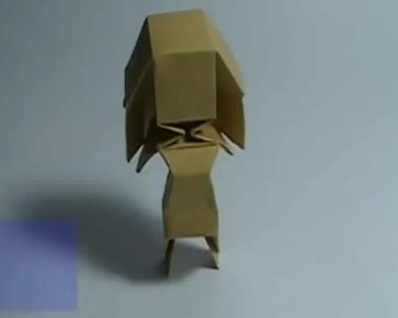 Девочка оригами. Видео схема.  Из Бумаги - Mozilla Firefox