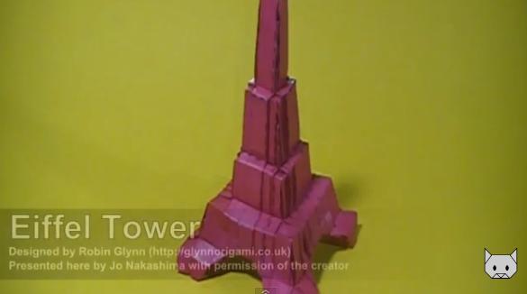 Эйфелева башня  Из Бумаги - Mozilla Firefox