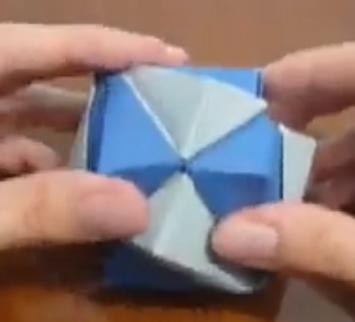 Геометрическая фигура оригами. Видео схема.  Из Бумаги - Mozilla Firefox