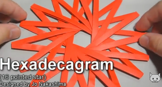Hexadecagram