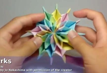 Игрушка головоломка из бумаги. Видео схема.  Из Бумаги - Mozilla Firefox