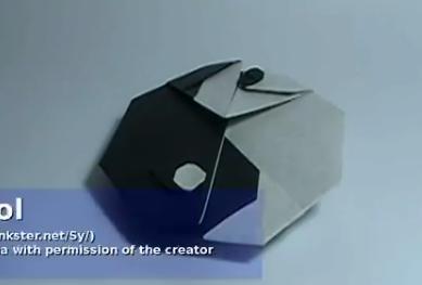 Инь янь оригами. Видео схема.  Из Бумаги - Mozilla Firefox