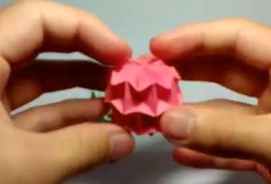 Маленький волшебный шар оригами. Видео схема.  Из Бумаги - Mozilla Firefox
