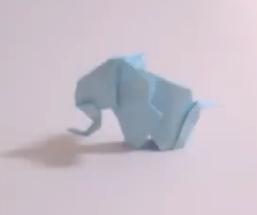 Оригами слон. Видео схема.  Из Бумаги - Mozilla Firefox