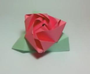 Оригами волшебная роза-кубик. Видео схема.  Из Бумаги - Mozilla Firefox