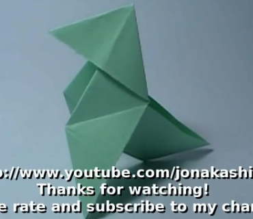 Пахарита оригами. Видео схема.  Из Бумаги - Mozilla Firefox