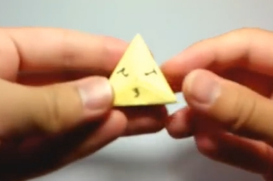 Пирамида оригами. Видео схема.  Из Бумаги - Mozilla Firefox