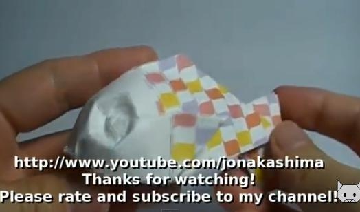 Рыбка оригами. Видео схема.  Из Бумаги - Mozilla Firefox