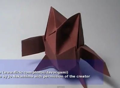 Сова оригами. Видео схема.  Из Бумаги - Mozilla Firefox