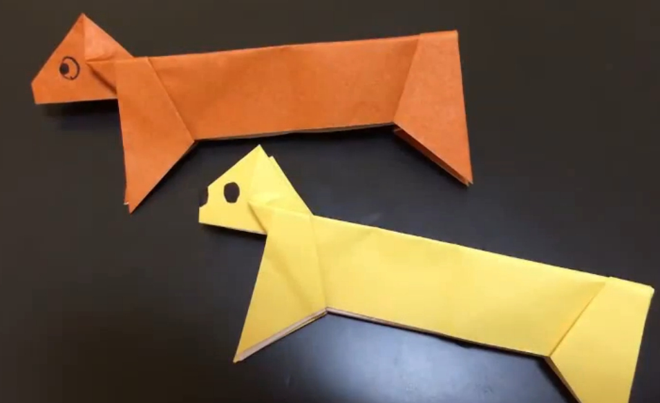 Такса оригами juravliki.ru - YouTube - Mozilla Firefox