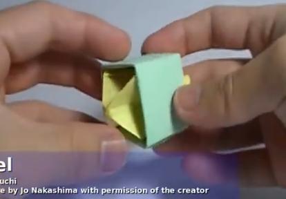 Волчок из бумаги. Видео схема.  Из Бумаги - Mozilla Firefox