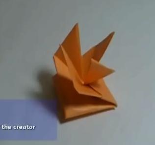 Волчок оригами. Видео схема.  Из Бумаги - Mozilla Firefox