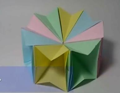 Волшебный круг оригами. Видео схема.  Из Бумаги - Mozilla Firefox