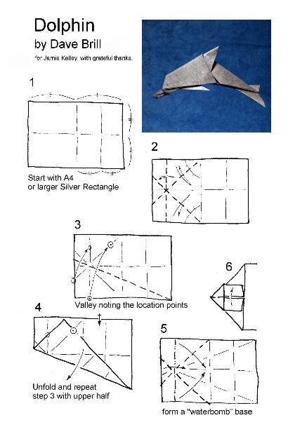 Поделка дельфин своими руками из бумаги Поделки из разных материалов