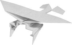 nemeckij-samolyot-origami