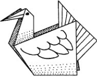 origami-chajka