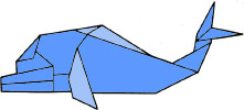 origami-delfin
