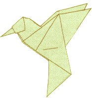 origami-kolibri