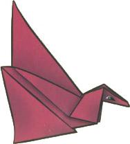 origami-ptica