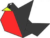 origami-snegir