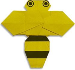 pchela-origami
