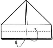 Оригами шляпа из купюры