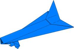 shema-kosmicheskogo-korablya-origami