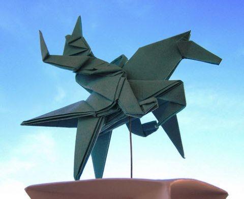 vsadnik-origami