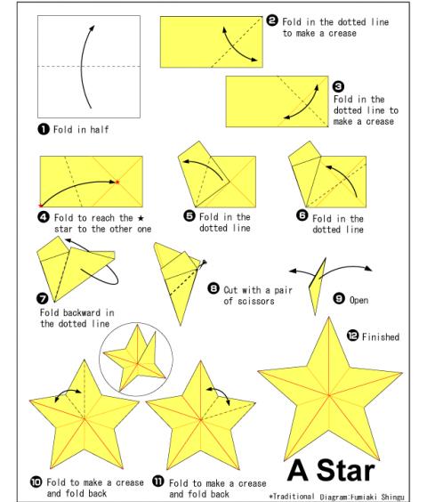 Оригами своими руками из бумаги схемы