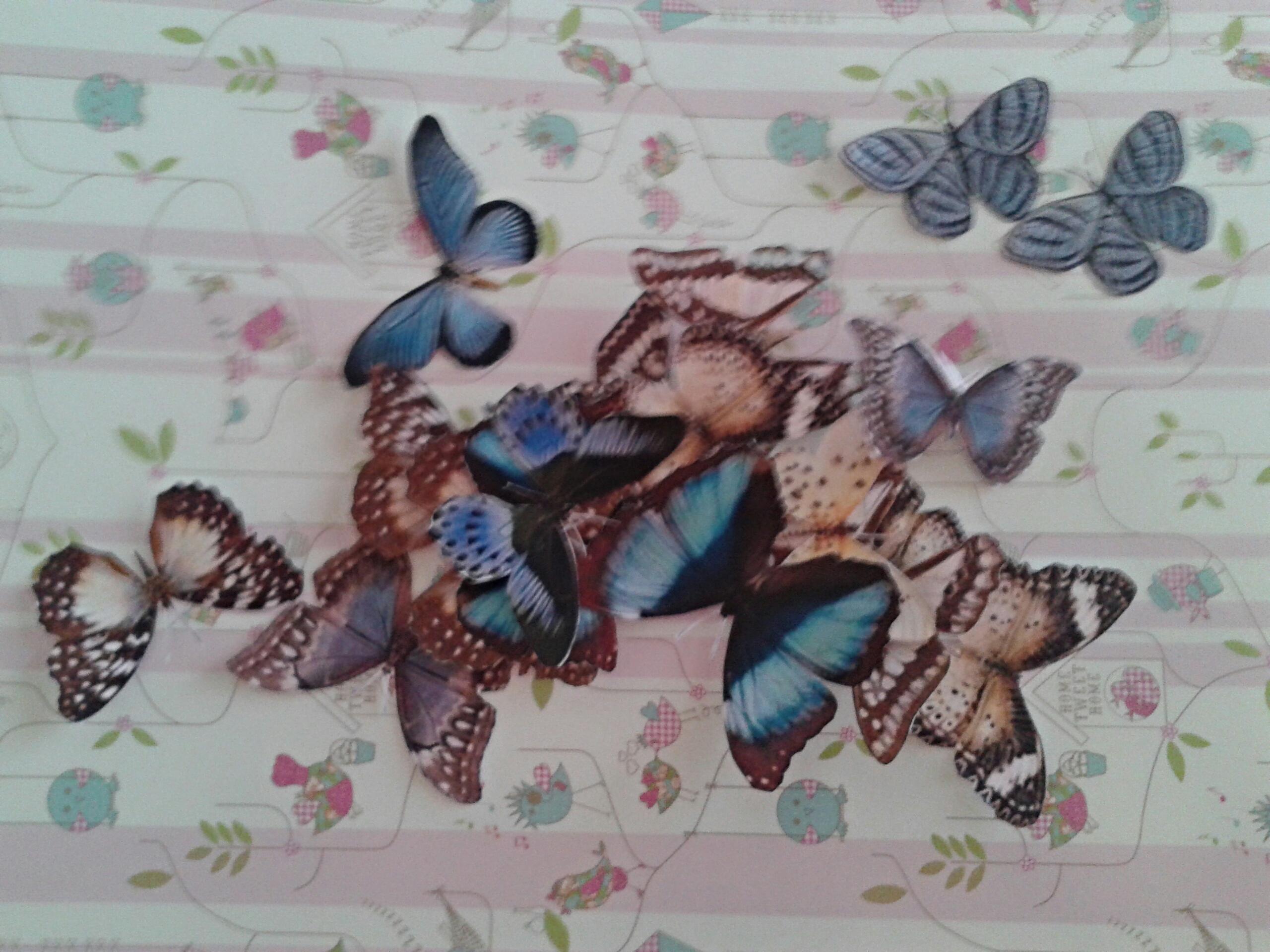 бабочки своими руками схема