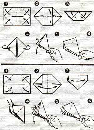 Как делать из бумаги хлопушку